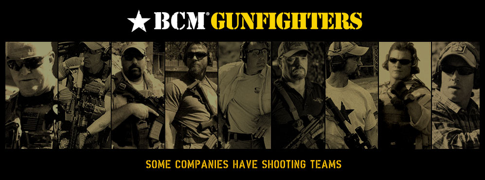 BCM Gunfighters.