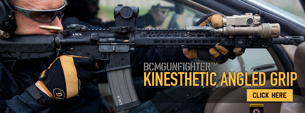 BCMGunfighter Kinesthetic Angled Grip.