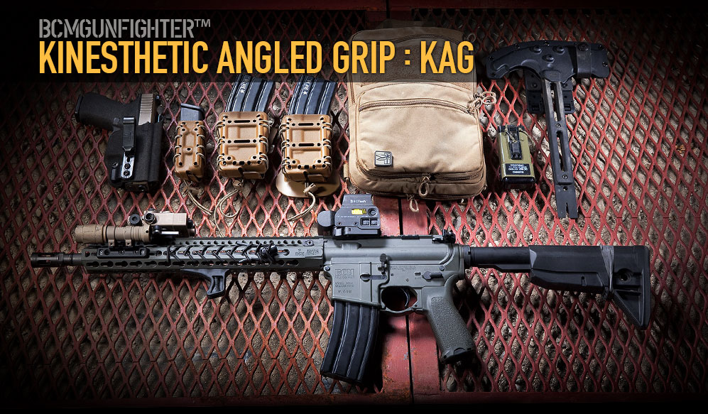 BCMGUNFIGHTER Kinesthetic Angled Grip - KAG.