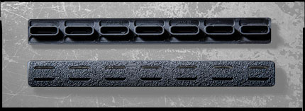BCM KeyMod Rail Panel Sets.